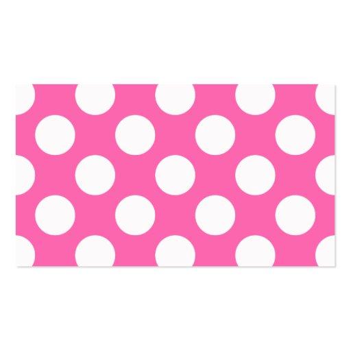 Polka Dot Business Card Templates Free