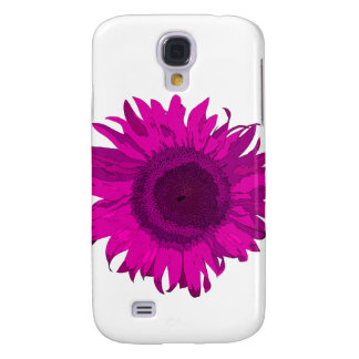 Hot Pink Pop Art Sunflower Galaxy S4 Case