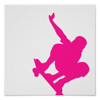 Hot Pink Poster