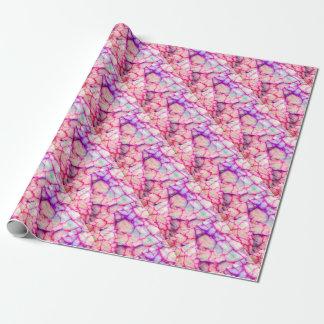Hot Pink & Purple Veiny Quartz