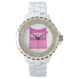 Hot Pink Resist Pussy Hat Watch