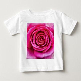 Hot Pink Rose Baby T-Shirt