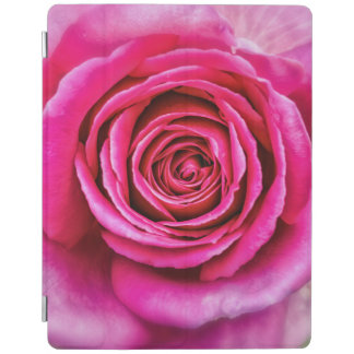 Hot Pink Rose iPad Cover