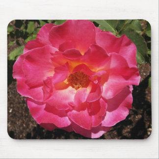 Hot Pink Rose Mousepad
