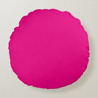 Hot Pink Round Cushion