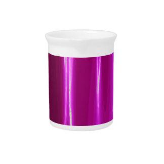Hot Pink simple Design Beverage Pitchers