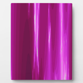 Hot Pink simple Design Plaque