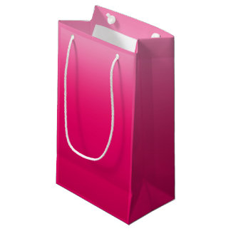 Hot Pink Sky Small Gift Bag