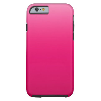 Hot Pink Sky Tough iPhone 6 Case