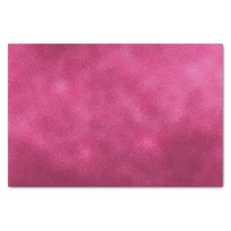 Hot Pink Smudge Color Tissue Paper