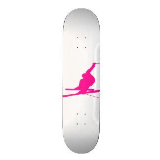 Hot Pink Snow Ski Skateboard Decks
