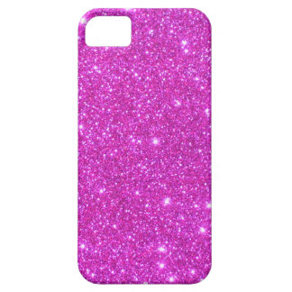Hot Pink Sparkle Glittery CricketDiane Art Case For The iPhone 5