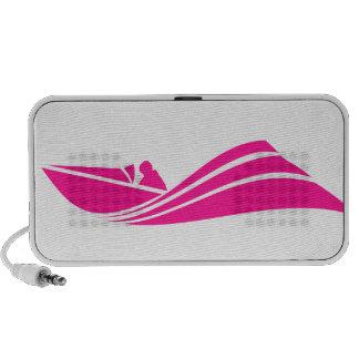 Hot Pink Speed Boat Speaker