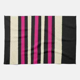 Hot Pink Stylish Trendy Tea Towel