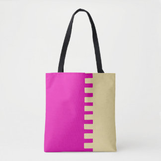 Hot Pink Stylish Trendy Tote Bag