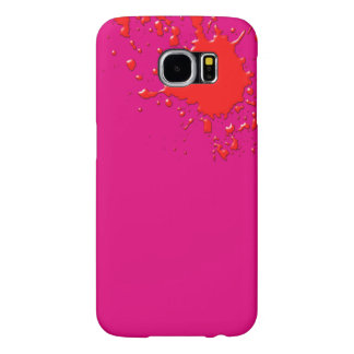 Hot Pink Surprise Samsung Galaxy S6 Cases