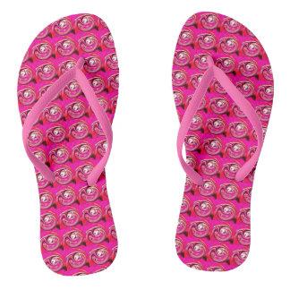 Hot pink thongs