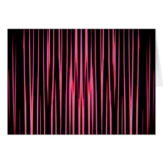 HOT PINK TILE (an abstract art design) ~ Greeting Card