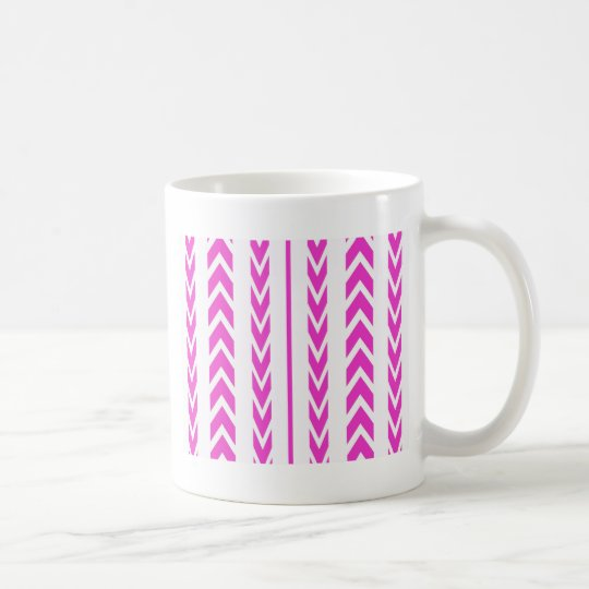Hot Pink Tire Tread Coffee Mug
