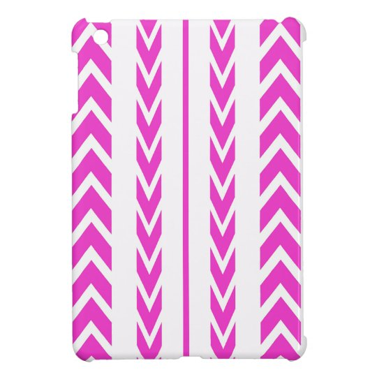 Hot Pink Tire Tread iPad Mini Case