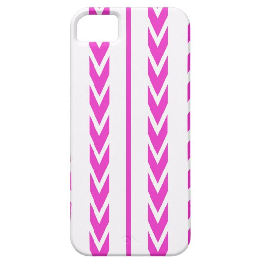 Hot Pink Tire Tread iPhone 5 Cover