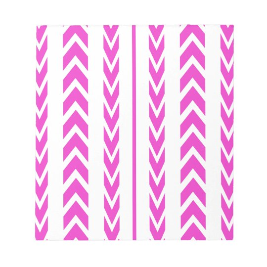 Hot Pink Tire Tread Notepad
