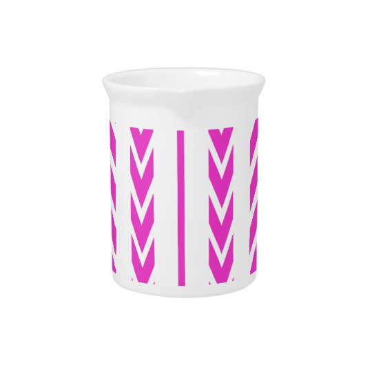 Hot Pink Tire Tread Pitcher
