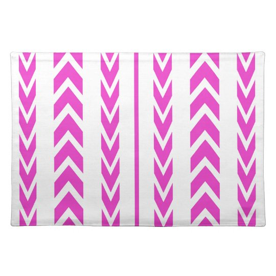 Hot Pink Tire Tread Placemat