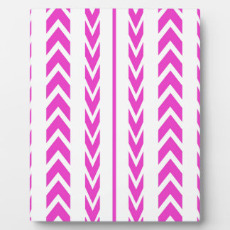 Hot Pink Tire Tread Plaque