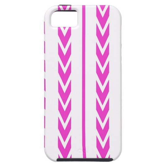 Hot Pink Tire Tread Tough iPhone 5 Case