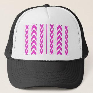 Hot Pink Tire Tread Trucker Hat