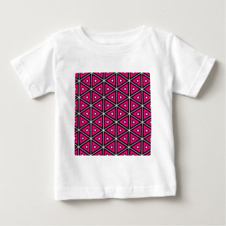 Hot pink triangles baby T-Shirt