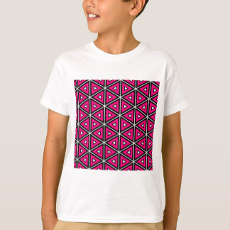 Hot pink triangles T-Shirt