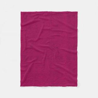 Hot Pink Velvet Look Girls Night Fleece Blanket