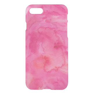 Hot Pink Watercolor iPhone 7 Case