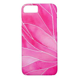 Hot Pink Watercolour Break iPhone 8/7 Case