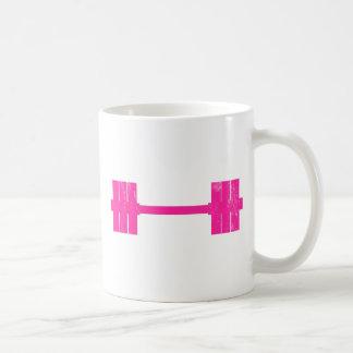 Hot Pink Weight Basic White Mug