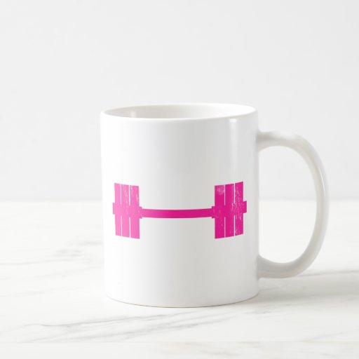 Hot Pink Weight Mug