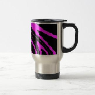Hot Pink Zebra Mugs