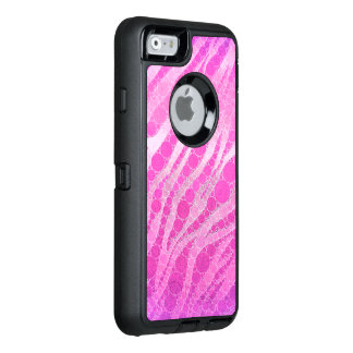 Hot Pink Zebra OtterBox iPhone 6/6s Case