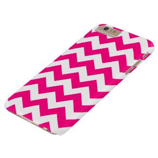 Hot Pink Zigzag Chevron iPhone 6 Plus Case