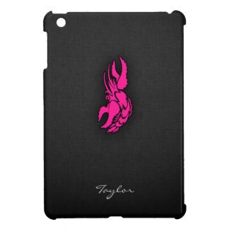Hot Pink Zodiac Cancer Sign Cover For The iPad Mini