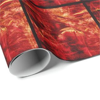 Hot planet tiled paper