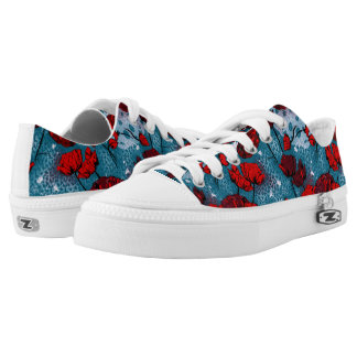 Hot Poppy Printed Shoes