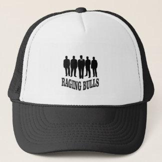 hot raging bulls trucker hat
