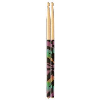 Hot Rainbow Tiger Designer Drumsticks Drum Sticks