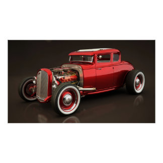 Hot rod 05 poster