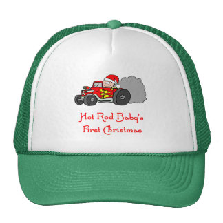 Hot Rod Baby s First Christmas Mesh Hats