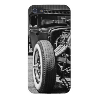 Hot Rod Black and White iPhone5 Case Case For iPhone 5/5S
