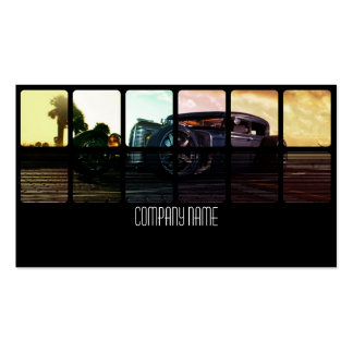 Hot rod Car in  Different Colors Pack Of Standard Business Cards